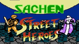 STREET HEROES (Asia) (NES Pirate) (Unl) - NES Longplay - NED Playthrough NO DEATH RUN (FULL GAME)