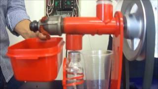 Máquina extractora de aceite vegetal - AGROINDCOL S.A.S