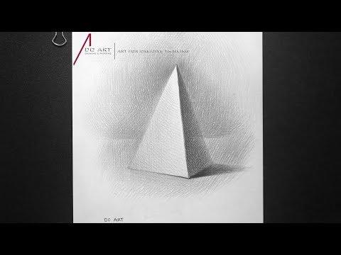 Cách vẽ khối Tam Giác [Hình Khối Cơ Bản]