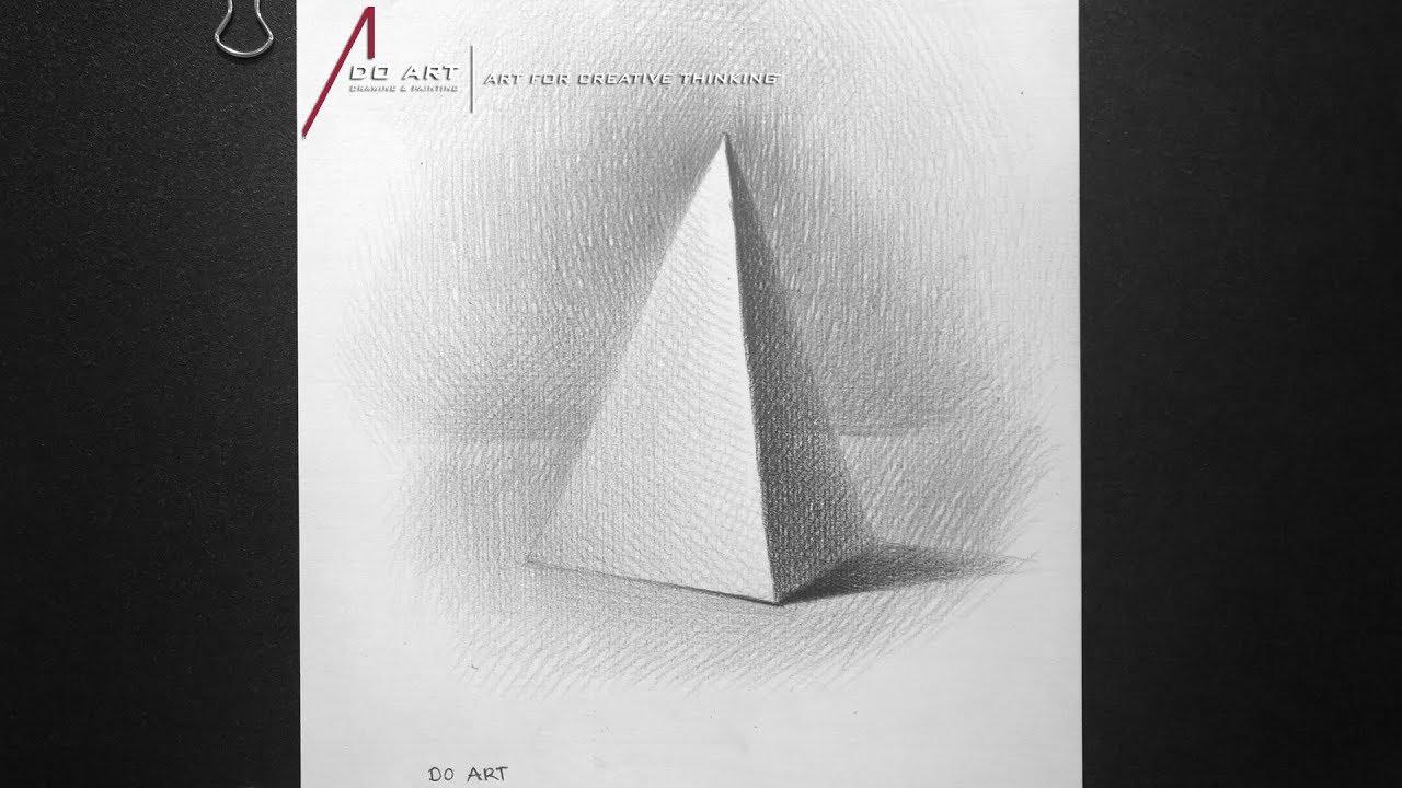 Cách vẽ khối Tam Giác [Hình Khối Cơ Bản] | Tóm tắt những tài liệu về hình khối tam giác chi tiết nhất