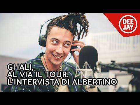 Ghali, ospite da Albertino Everyday,  parla del nuovo tour