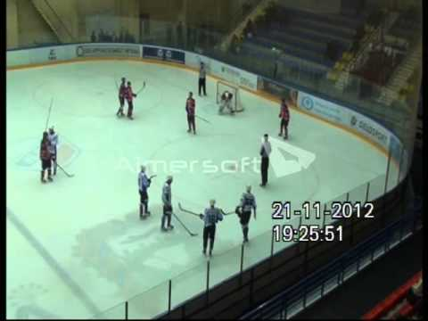 DENISOV ALEXEI  ( VHL Zauralie Kuban ) red jersey #44