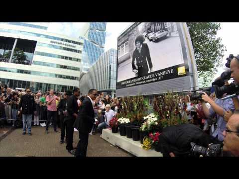 The Jacksons eren Michael in Amsterdam