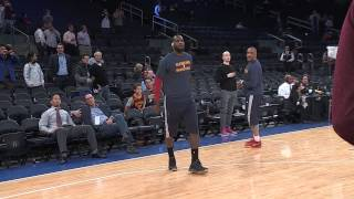 Download LeBron James & the Cleveland Cavaliers Pre-Game Warm-ups:  12-4-2014 MP3 song and Music Video