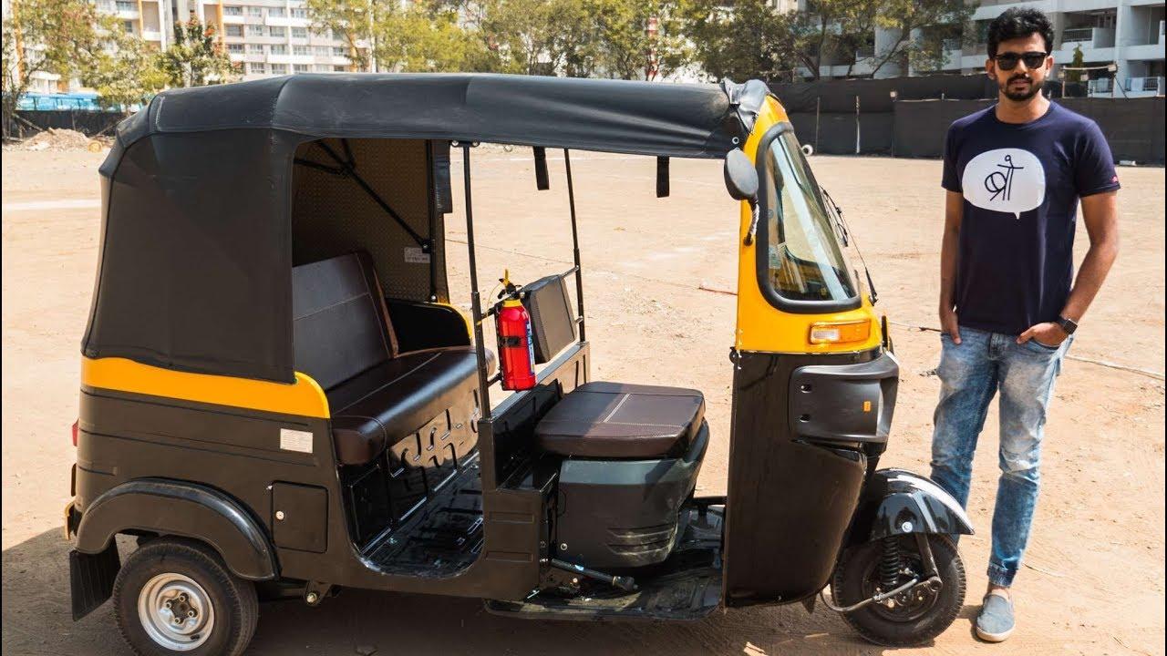 Bajaj Compact 4s Auto Rickshaw 3 Wheeler Tuk Tuk Faisal Khan