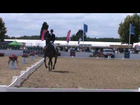 Gareth Hughes riding Duvie Festival of the Horse