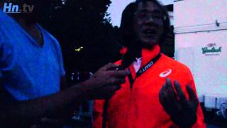 In 1998 liep de toen 24-jarige Japanner Takahiro Sunada in de 100km...