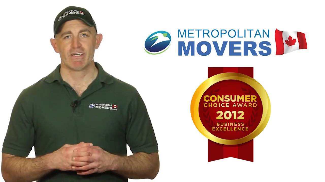 Metropolitan Movers Kitchener: Moving Companies Kitchener - YouTube