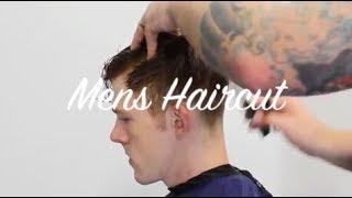 Mens Haircut Tutorial Curly hair