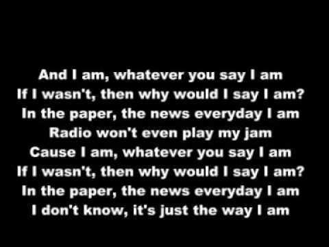 Eminem & Marilyn Manson - The Way I Am (with lyric - YouTube