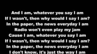 Eminem & Marilyn Manson - The Way I Am (with lyric