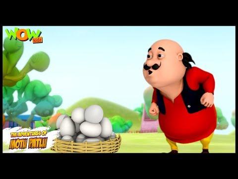 Motu Ke Ande - Motu Patlu in Hindi - 3D Animation Cartoon for Kids -As on Nickelodeon