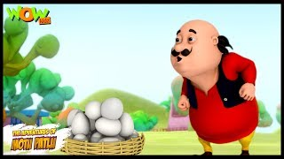 Motu Ke Ande | Motu Patlu in Hindi | 3D Animation Cartoon for Kids | As on Nickelodeon