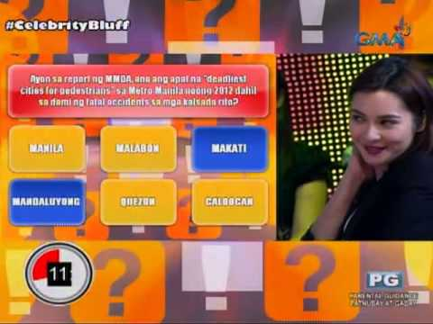 Celebrity Bluff: Ang deadliest cities sa Metro Manila