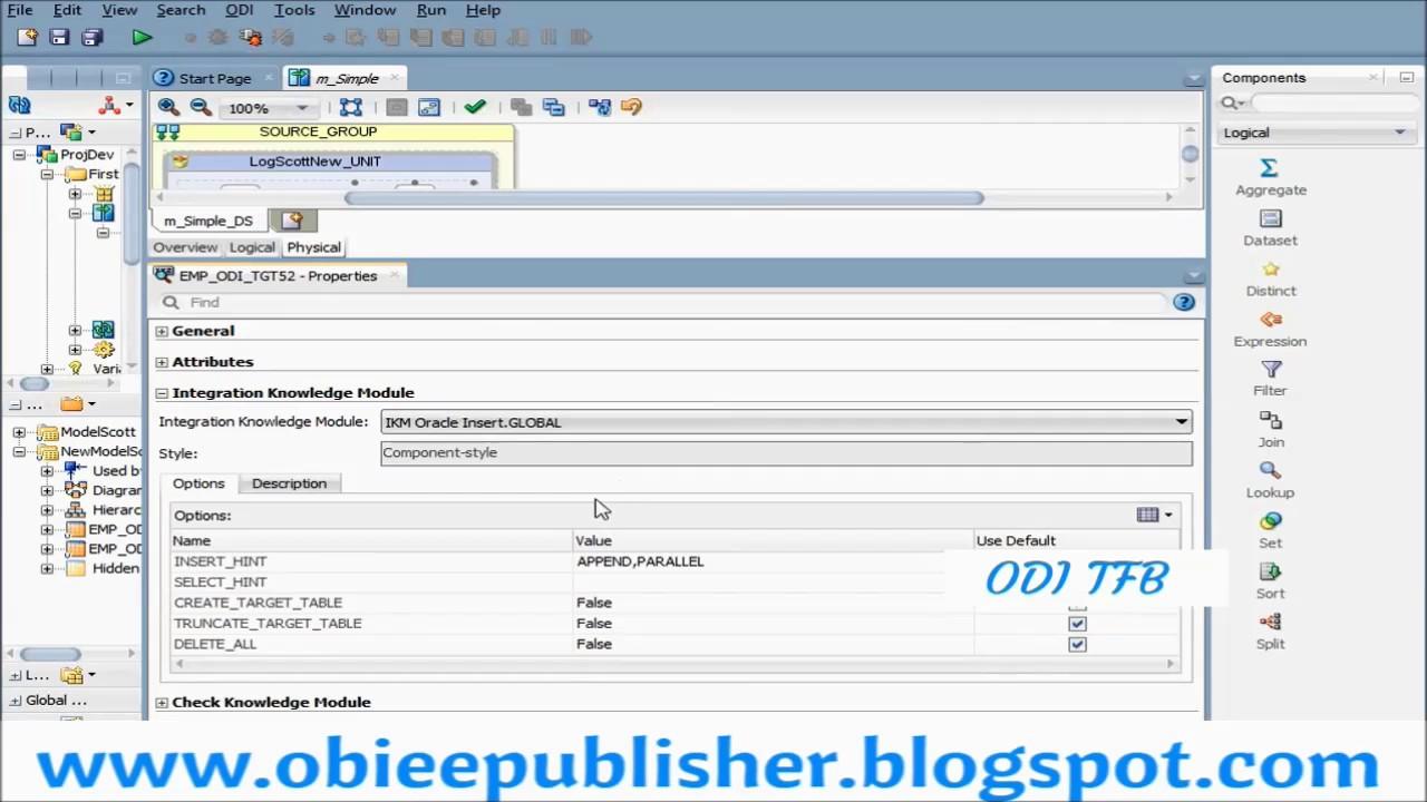 Create custom knowledge module in oracle data integrator youtube create custom knowledge module in oracle data integrator tutorials for beginners baditri Gallery