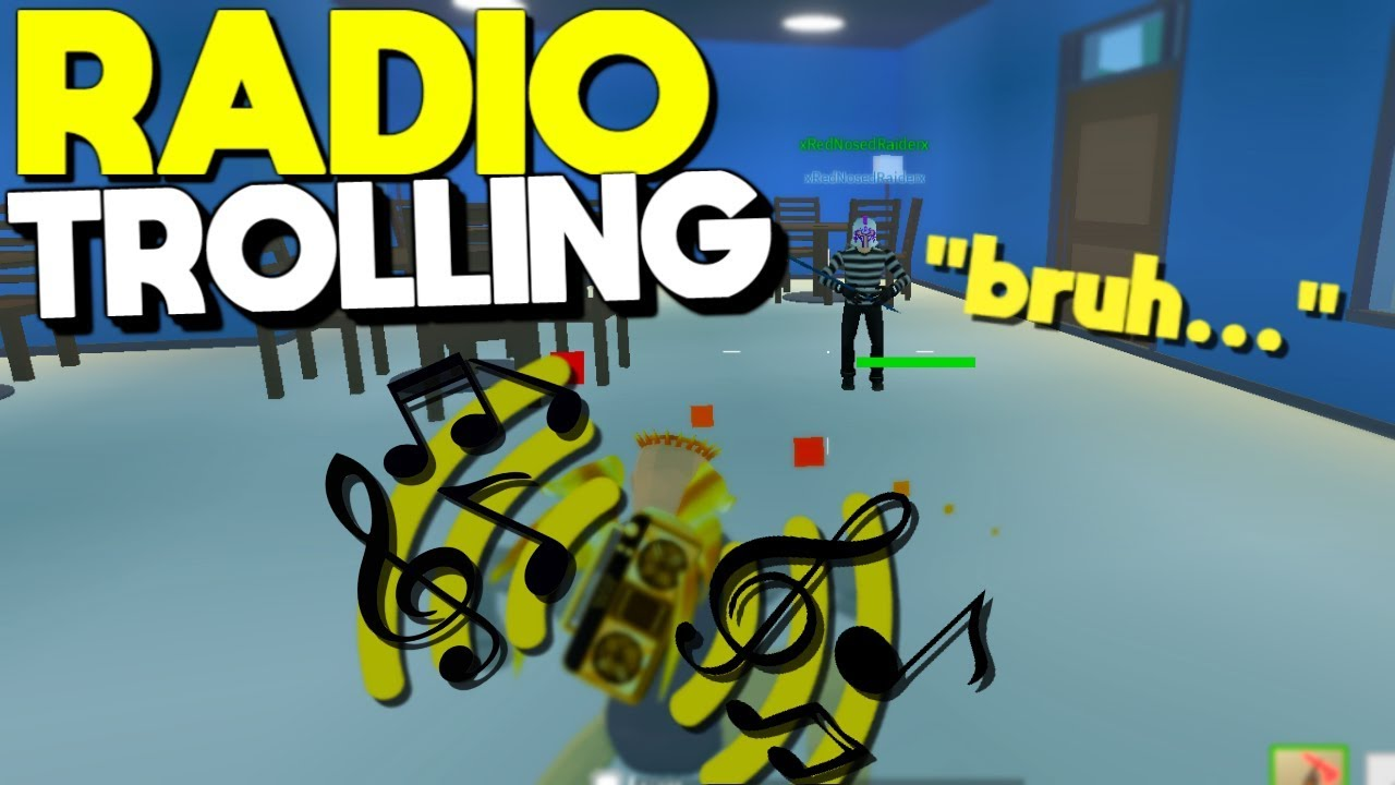 BLASTING THE RADIO In Battle Royale Strucid... (Roblox ...