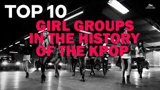 TOP 10 GIRL GROUPS IN THE HISTORY OF THE KPOP - Stafaband