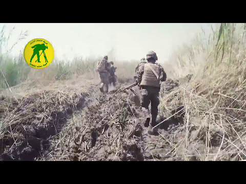 Iraqi PMU Dawn combat operations against ISIS in North Fallujah City
