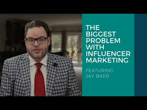 The Biggest Problem With Influencer Marketing — Jay Baer