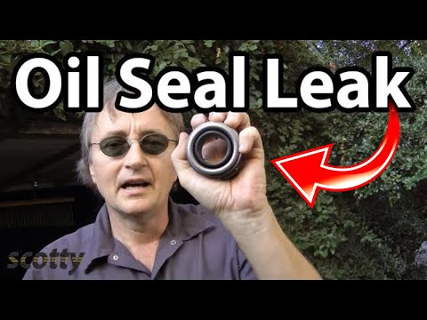 How to Fix a Oil Seal Leak in Your Car