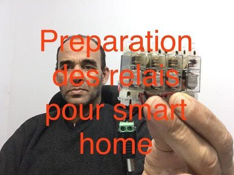 #19.préparation des relais pour smart home avec alarme TELETEK( ECLIPSE)