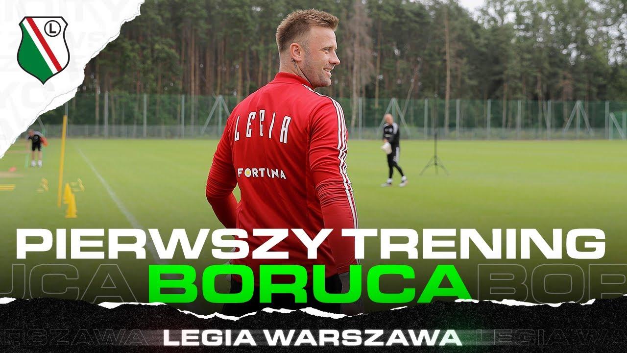 ARTUR BORUC JUŻ TRENUJE Z LEGIĄ!