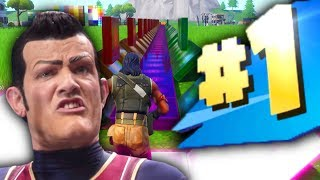 We Are Number One but it's played in Fortnite Creative with Music Blocks