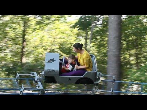 Backyard Roller Coaster - YouTube