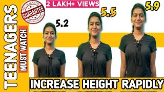 How to grow height faster in Teenager||Teenage height growth tips||Result Guranteed