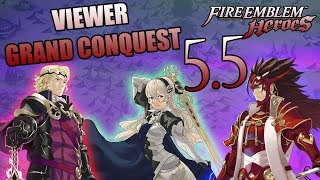 (STREAM) Viewer Grand Conquest 5.5 : REVENGEANCE - May 19th 2019