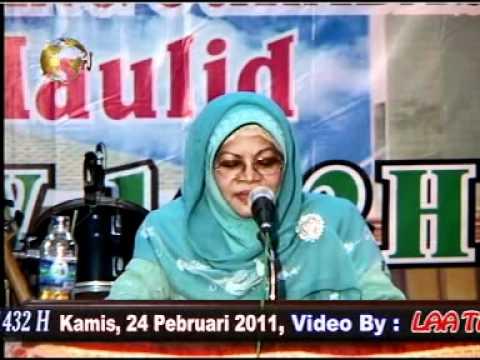 Nada & Dakwah - Hj Ida Laila * Sepiring Berdua *(Sby,24 Feb 2011)