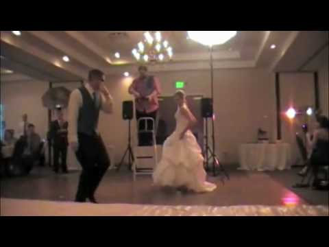 Best Wedding First Dance (Flo Rida, MC Hammer, Beyonce, AC /DC, Black eyed Peas) #1