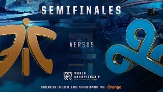 FNATIC VS CLOUD9 | MAPA 2 | SEMIFINALES WORLDS | LEAGUE OF LEGENDS WORLDS (2018)