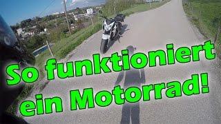 Wie funktioniert ein Motorrad?! [ANFÄNGER] - MotoVlog #13