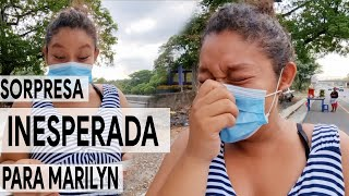 La reaccion de Marilyn al recibir DOBLE BENDICION | Youtubero Salvadoreño