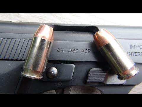 Speer Gold Dot .380 ACP 90 gr Ammo Test