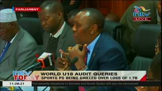Baixar PS Kirimi Kaberia questioned over Sh1.7 billion scandal in Sports ministry