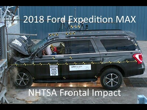 2018-2019 Ford Expedition MAX/Lincoln Navigator NHTSA Frontal Impact