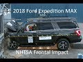 2018-2019 Ford Expedition MAX/Lincoln Navigator NHTSA Frontal Impact