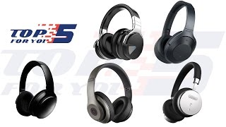 Video Top 5 Best Noise Cancelling Wireless Headphones For 2017 - 2018 download MP3, 3GP, MP4, WEBM, AVI, FLV Juli 2018