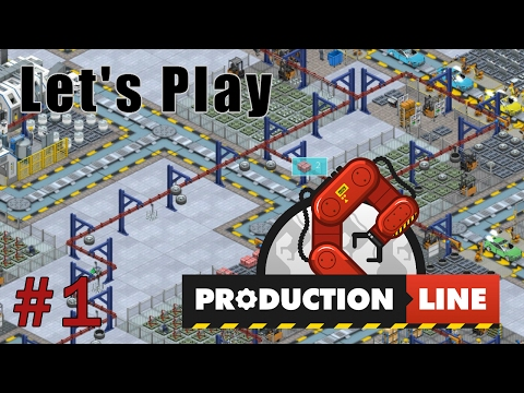 EP1: Factory Construction | Production Line, Alpha Let's Play, Gameplay