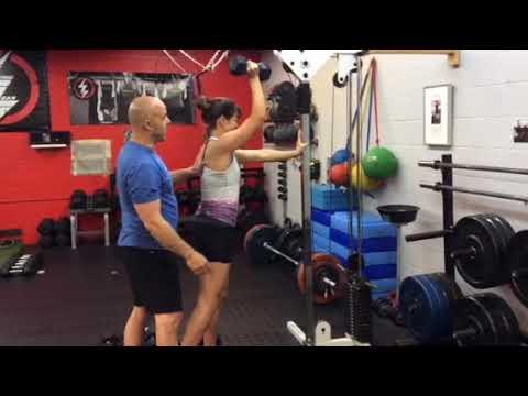 Living Lean 101 - Off Set Shoulder Press