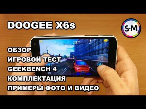 Смартфон Doogee X6s 4G. Обзор, игры, камера, внешний вид