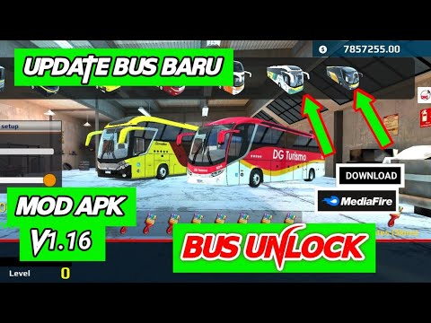 World Bus Driving Simulator V1 16 Mod Apk Bus Unlock New Update Bus Baru Youtube