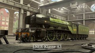 Rail Nation | Update - Epoche 1 & 2 Neuer Lokkauf-Screen