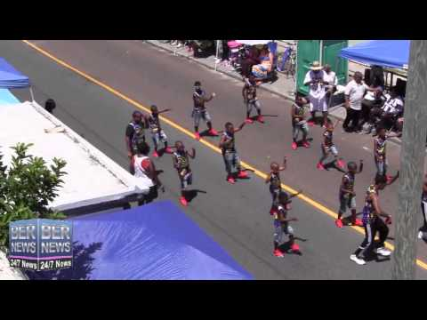 Bermuda Squad In The Bermuda Day Parade, May 26 2014