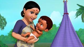 சின்னச் சின்னப் பாதங்கள் | Tamil Baby Folk Songs | Infobells