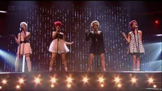 Little Mix keep us hanging on - The X Factor 2011 Live Semi-Final - itv.com/xfactor
