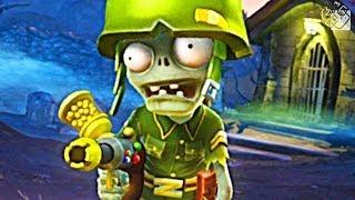 Гагатун впервые играет в Plants vs. Zombies: Garden Warfare на Xbox One