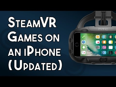 How To Play SteamVR Games On An IPhone With IVRy (New & Improved Version)